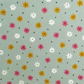 Krinkel katoen Daisy small dots
