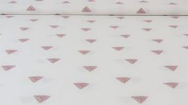 Katoen met driehoekjes