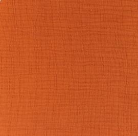 Snoozy fabrics Bamboe Hydrofiel terra