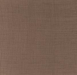 Snoozy fabrics Bamboe Hydrofiel mauve