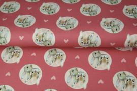Stenzo tricot digitaal Schattige konijntjes