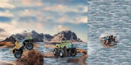 Stenzo tricot Panel Monster truck