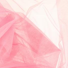 Soepele tule/ mesh Pink