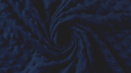 Minky fleece Navy