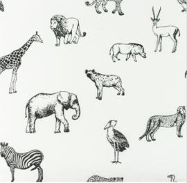 Snoozy Poplin Wildlife