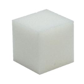 Schuimrubber kubus