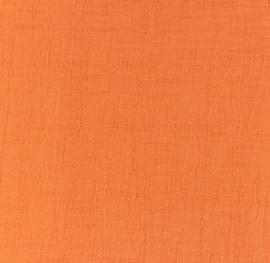Snoozy fabrics Bamboe Hydrofiel oranje