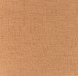 Snoozy fabrics Bamboe Hydrofiel donker zalm