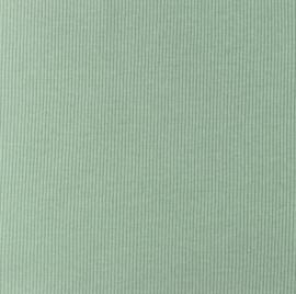 Snoozy fabrics Rib jersey Oudgroen