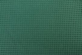 Wafelstof FIJN Emerald jade