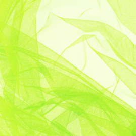 Soepele tule/ mesh Lime