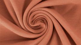 Katoen tricot Licht oudroze