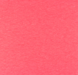 Katoen tricot Neon roze