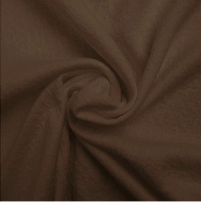 Triple cotton jersey Collino soft choco
