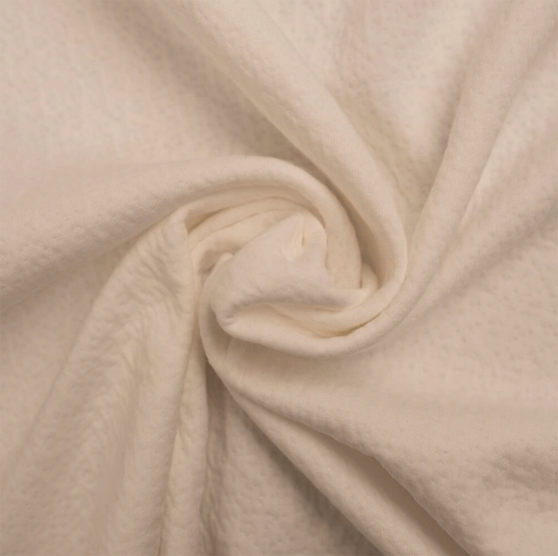 Triple cotton jersey Collino ecru