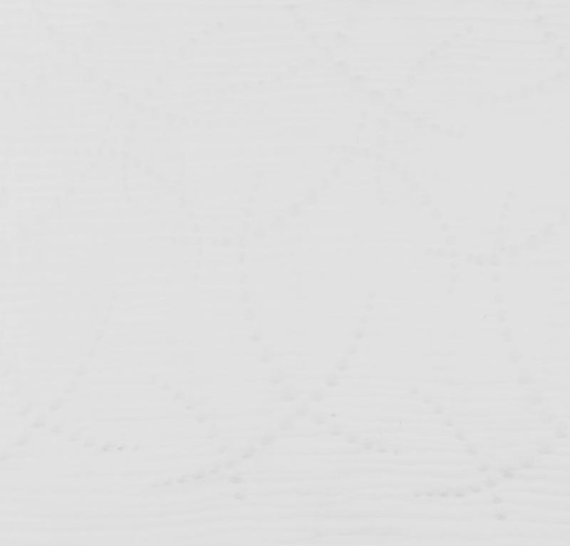 Hydrofiel Geborduurd Slinger wit