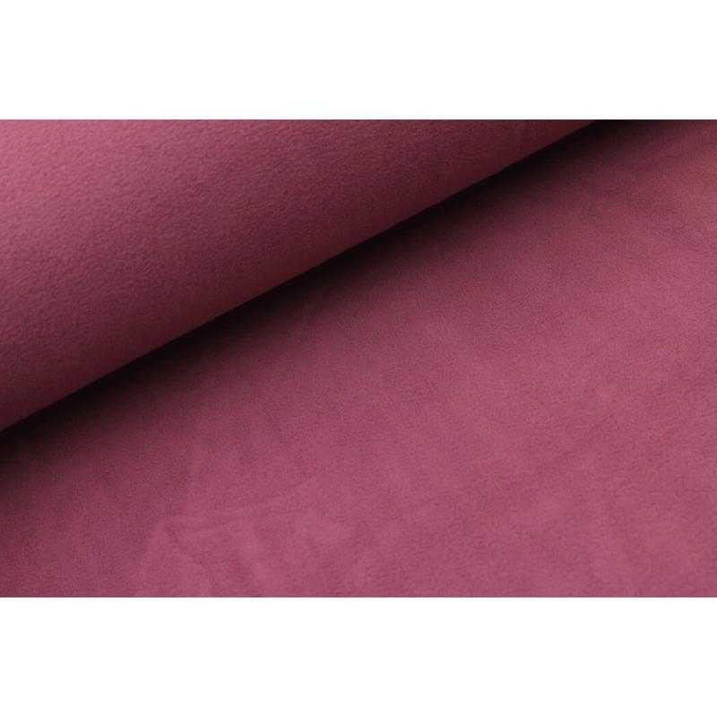 Sherpa cotton fleece Donker oudroze