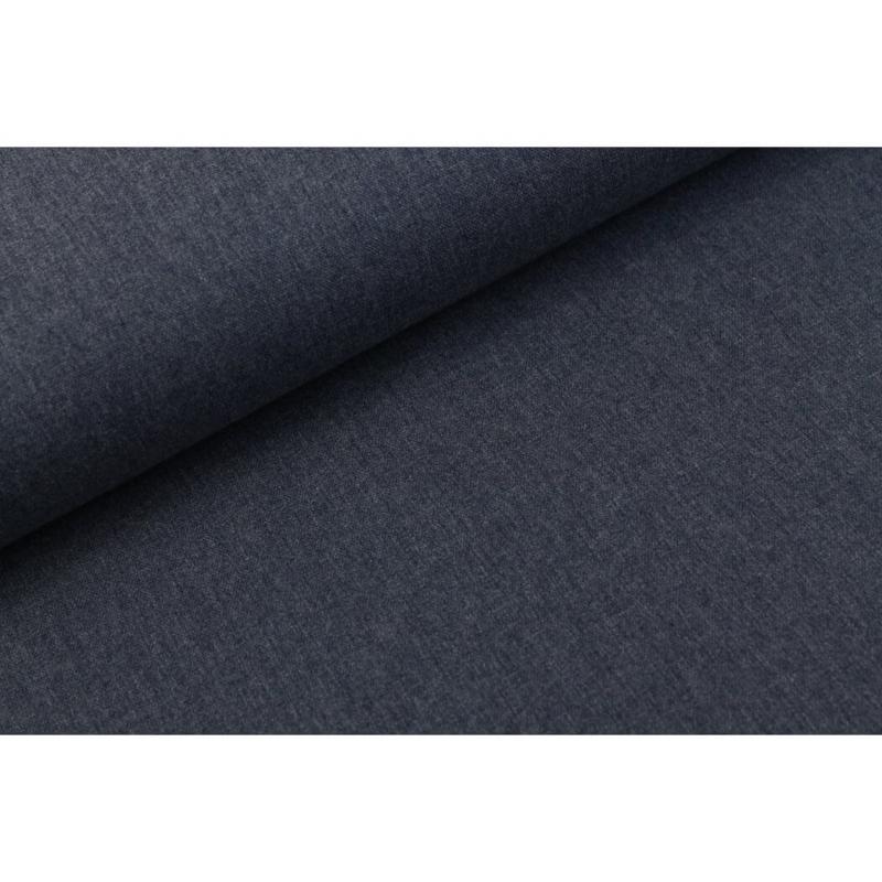 Canvas melange donker jeans