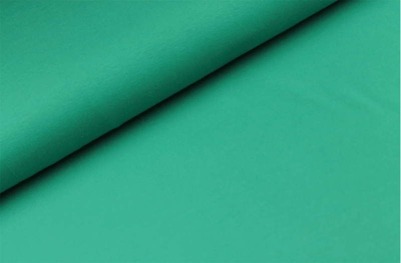 Katoen tricot Donker Seagreen
