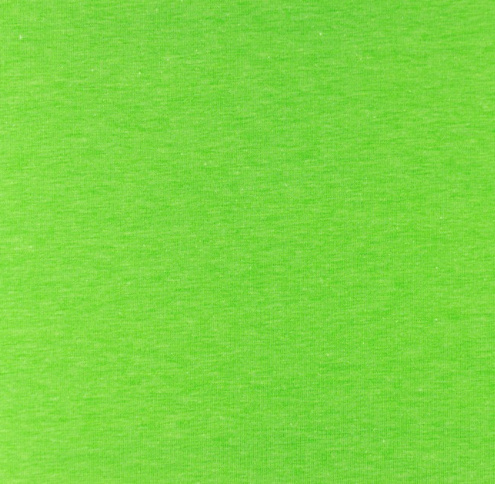 Katoen tricot Neon groen