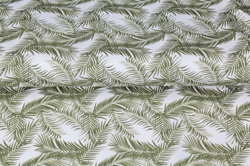 Stenzo tricot Jungle leaf all-over