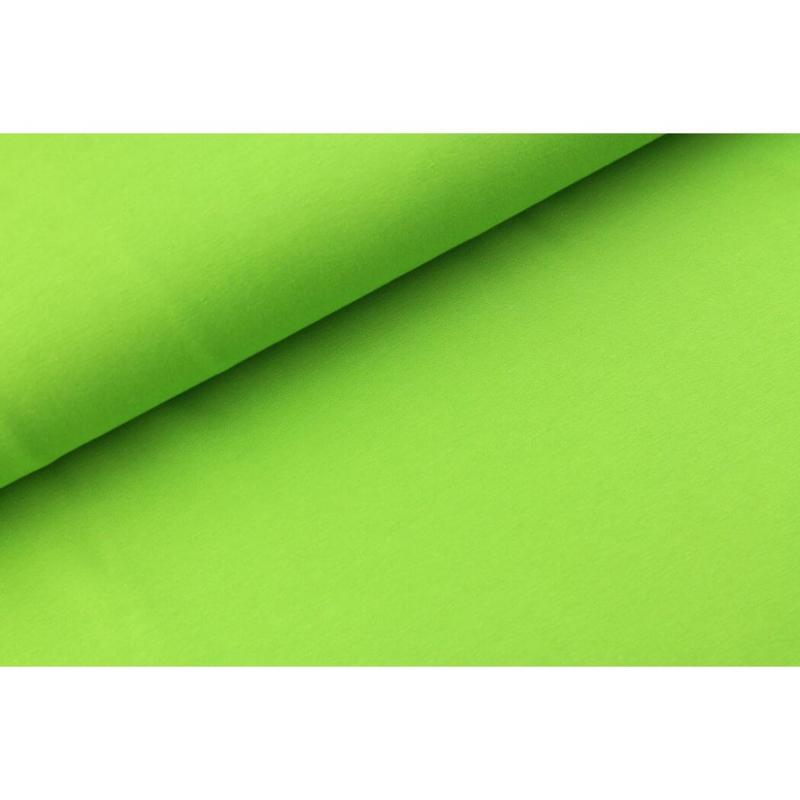 Katoen tricot Lime