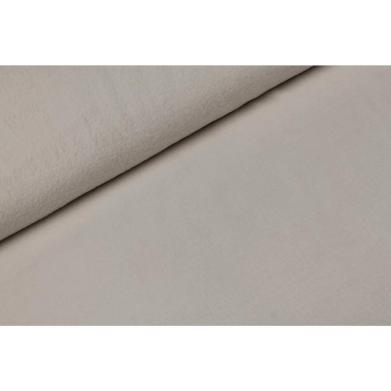 Sherpa cotton fleece Silver