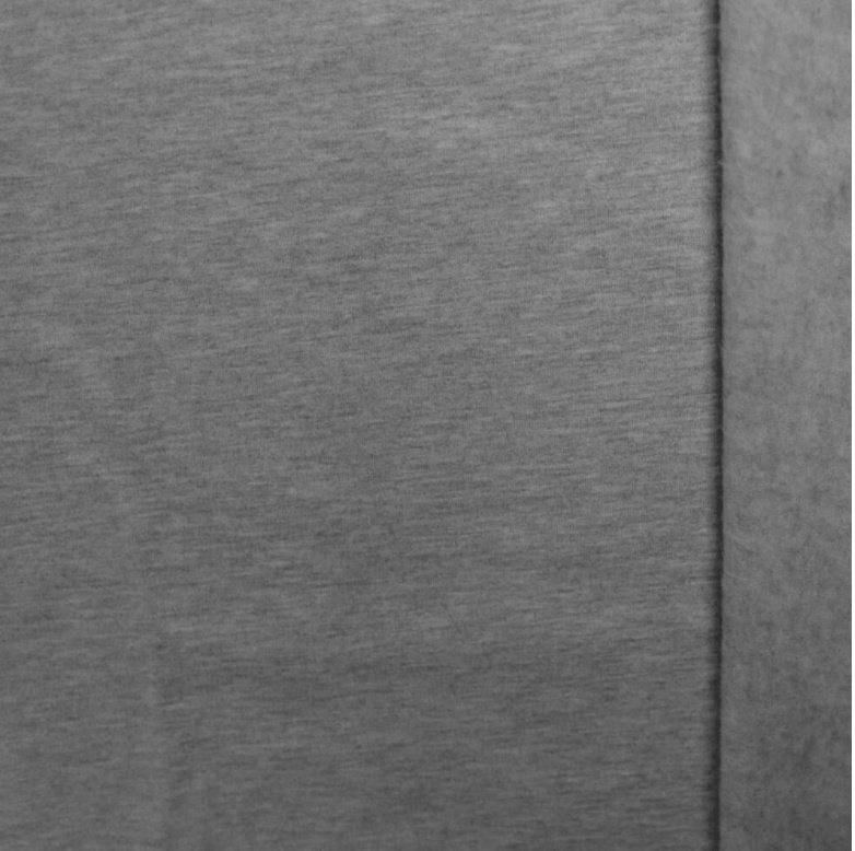 Brushed tricot Licht grijs melange