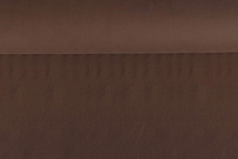 Brushed tricot Brown