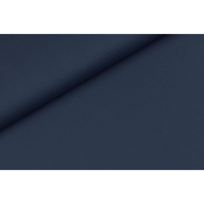 Katoen tricot Licht navy
