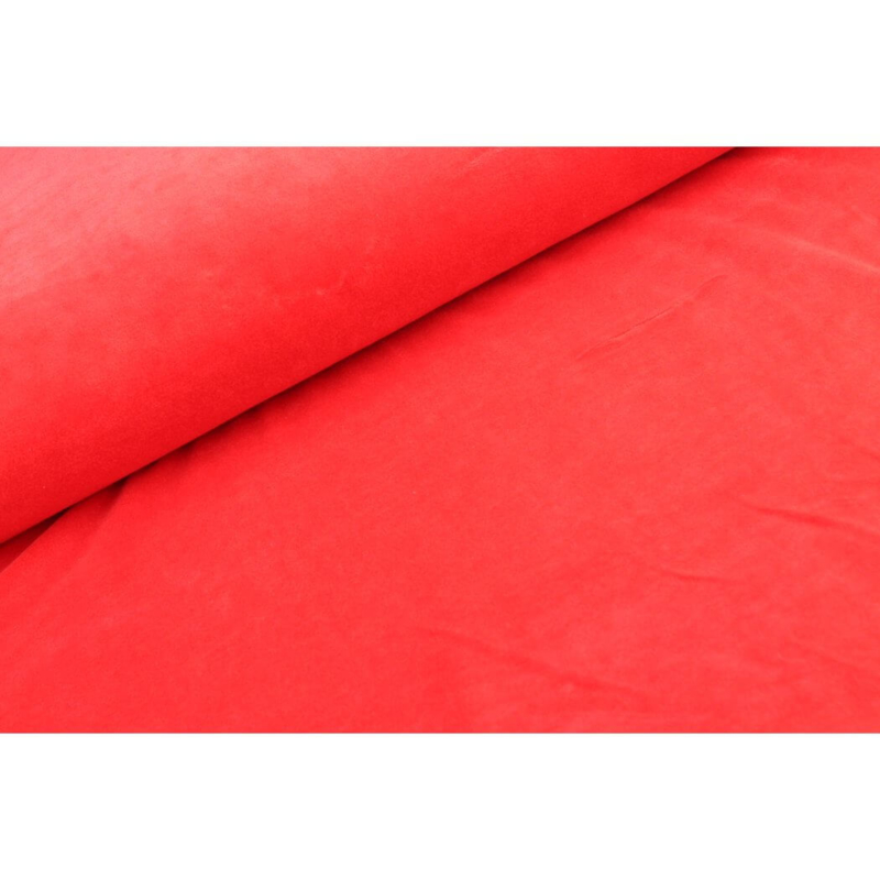Nicky velours Ferrari rood