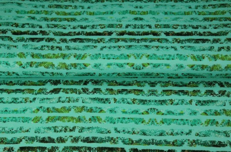 Stenzo tricot digital Jungle Stripes