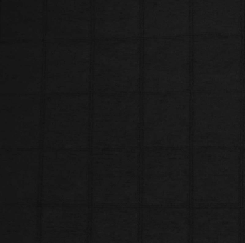 Hydrofiel jersey Zwart