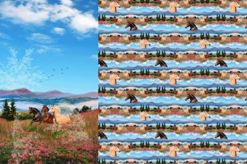 Stenzo tricot Panel Prairie