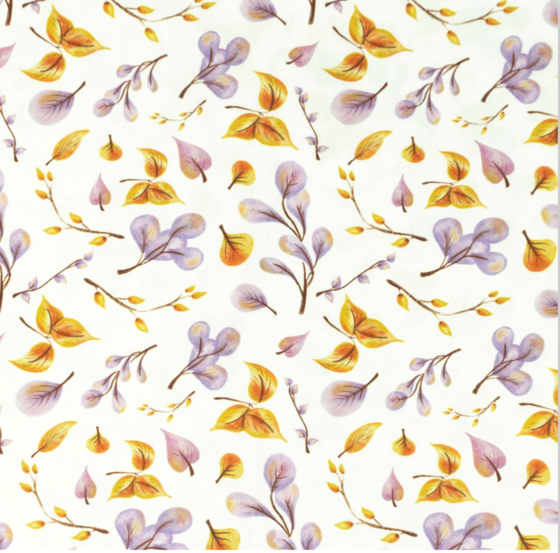 Snoozy Poplin bladeren