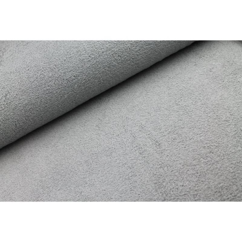 Badstof Zilver grijs