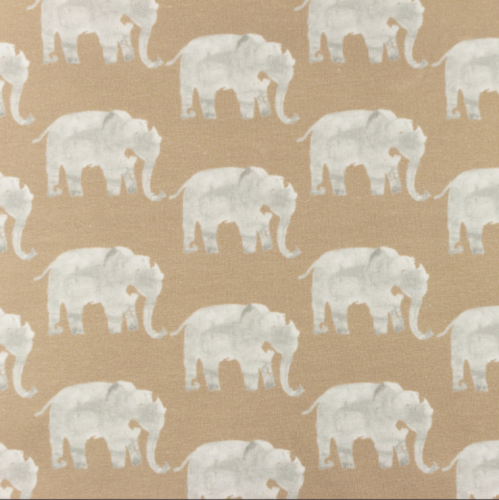 Snoozy Tricot Olifant sand