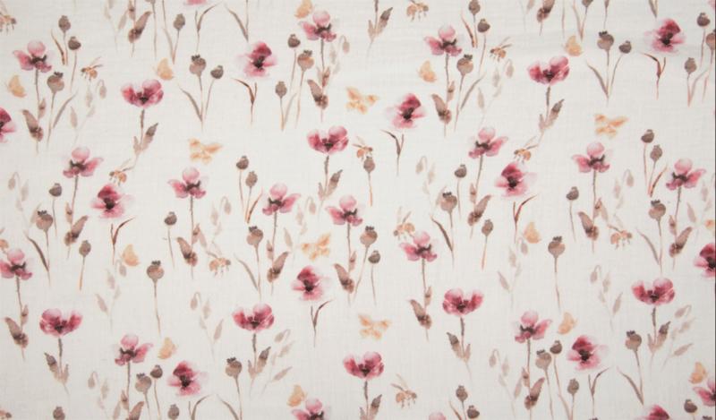 Qjutie hydrofiel Flowers marsala