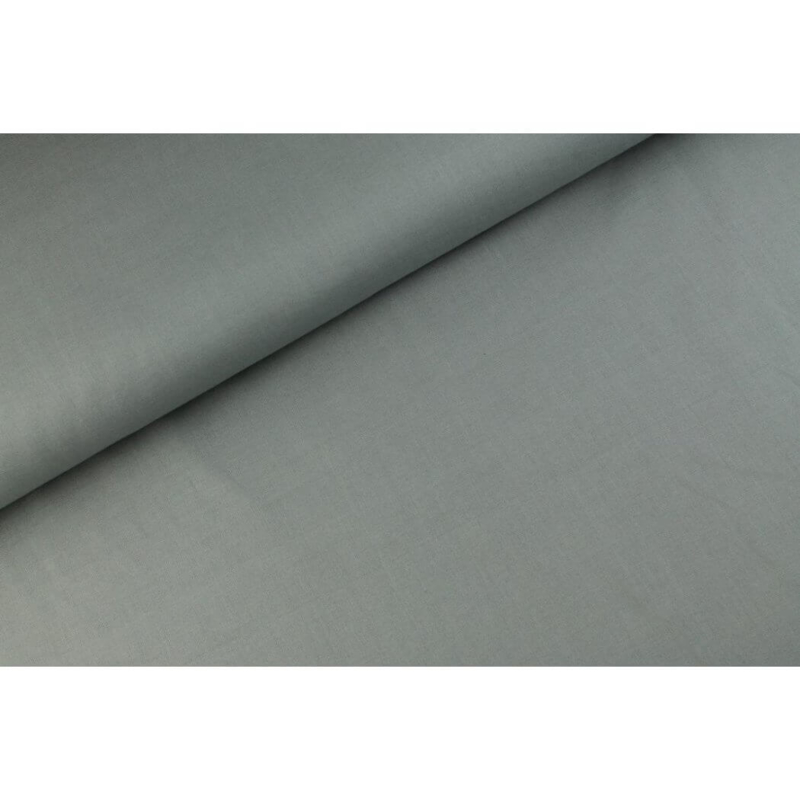 Uni katoen Zilver grijs