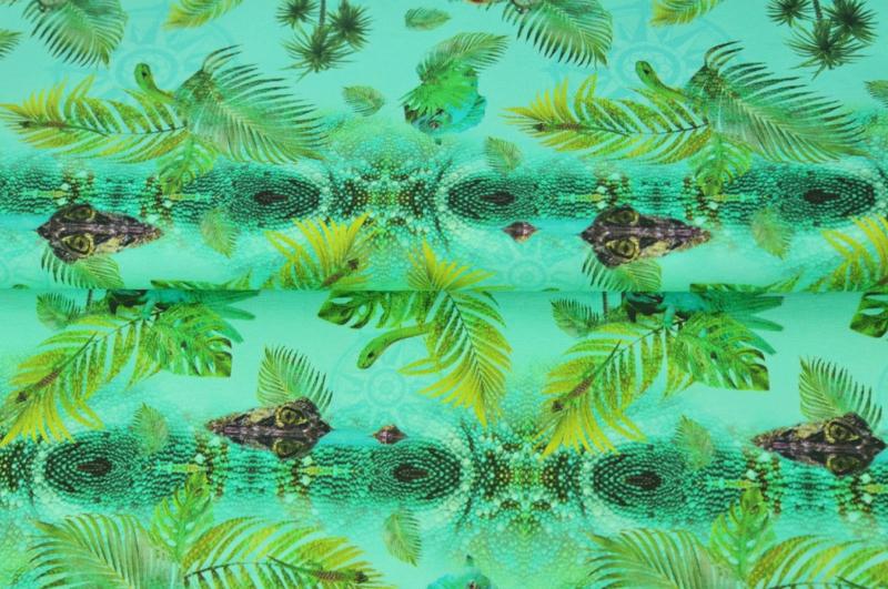 Stenzo tricot Reptile green