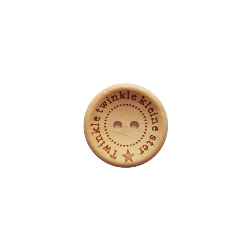 Houten knopen 20-25mm
