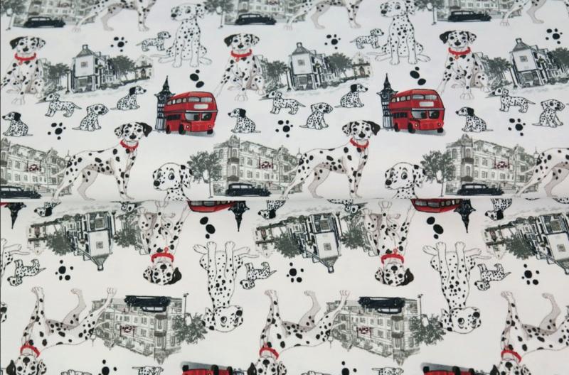 Stenzo tricot Dalmatiërs dessin