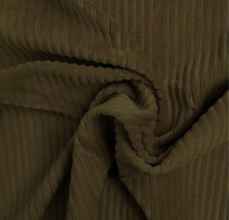 Tricot rib GROF Khaki