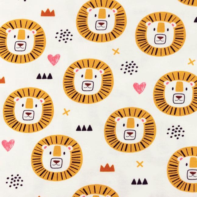 Tricot Printed lion