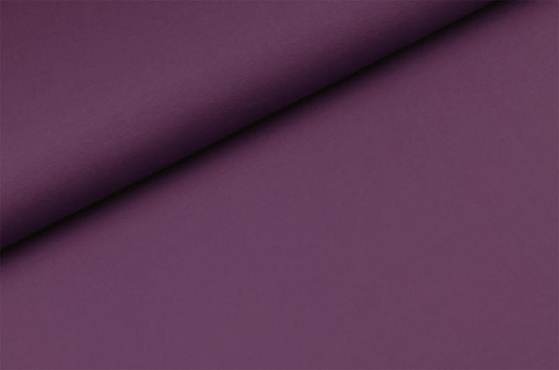 Katoen tricot Donker paars