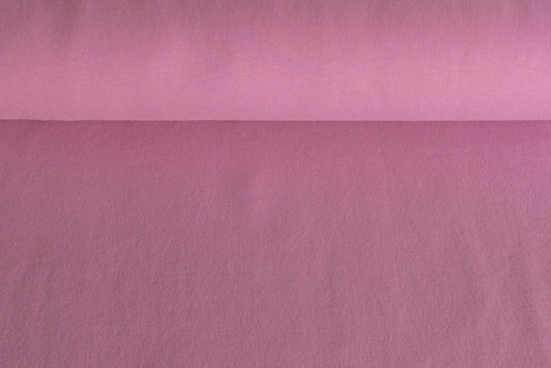 Brushed tricot Pink