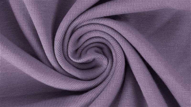 Katoen tricot Lila