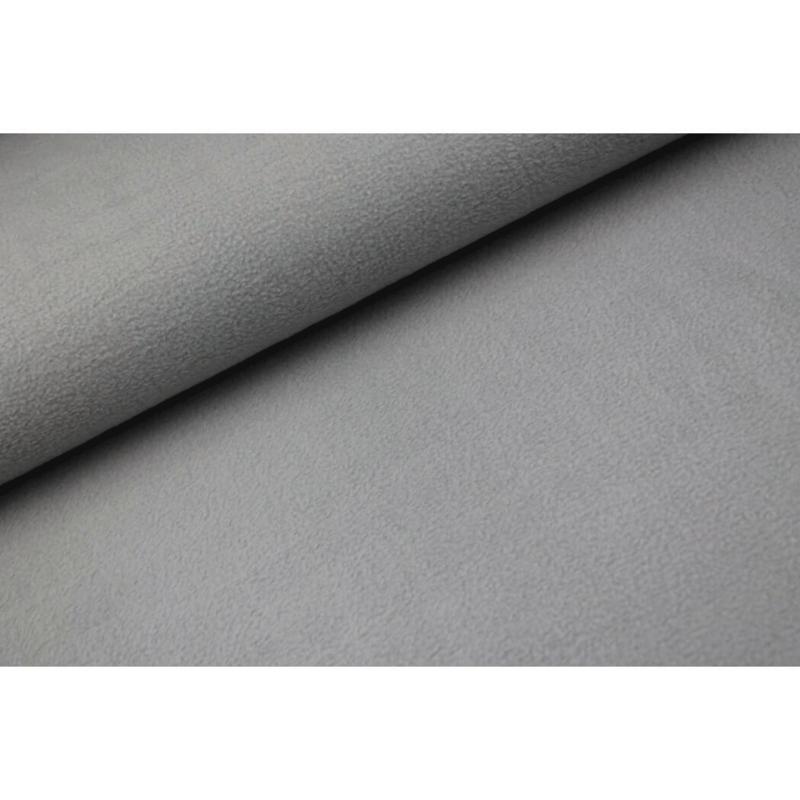 Sherpa cotton fleece Lichtgrijs