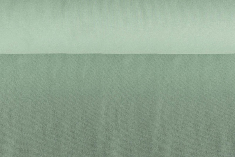 Brushed tricot Licht oudgroen