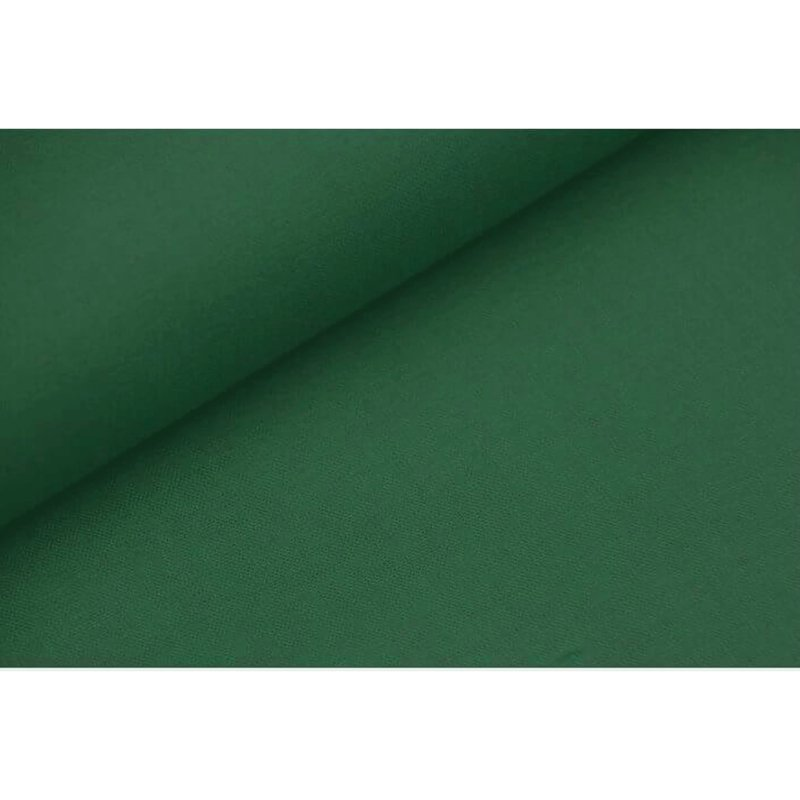 Uni katoen Pine green